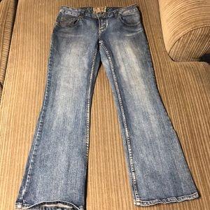 American Rag Flare Jeans Short